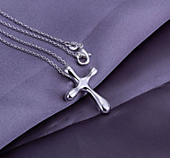 Water Drop Shaped Cross Pendant (Pendant Only)