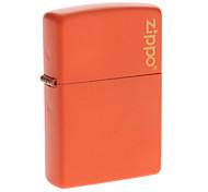 Genuine Zippo Orange Copper Fuel Fluid Oil Lighter