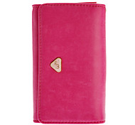 PU Leather Zip Wallet Credit Card Case Pouches Handbag Purse for Samsung Galaxy S3 i9300