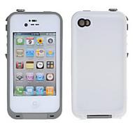 weiß einfarbig PC Hard Case für iPhone 4/4S