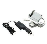 Insten Car Charger+AC Travel Wall Charger For Nintendo 3DS LL
