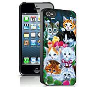 Cats Pattern 3D Effect Case for iPhone5
