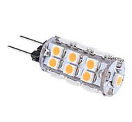 1W G4 Bombillas LED de Mazorca T 24 SMD 3528 80 lm Blanco Cálido AC 12 V