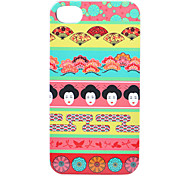 Fan Woman Head Back Case for iPhone 4/4S