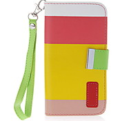 Beautiful Leather Wallet Case Flip Leather Stand Cover with Card Holder for Samsung Galaxy S4 i9500/i9505