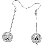 Stylish Hollow-Out Ball Design Earrings