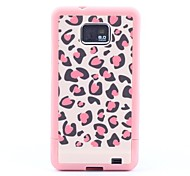 Leopard Print Hard Case for Samsung Galaxy S2 i9100
