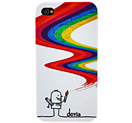 DEVIA Magic Drawing Pen Pattern PC Hard Case for iPhone 4/4S