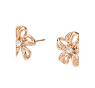 Earring Flower Stud Earrings Jewelry Women Daily Gold / Alloy Gold