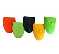 Di colore della caramella del silicone del cambiamento della moneta Purses (colori assortiti)