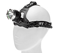 3-Mode Cree XR-E Q5 LED Headlamp (200LM, 2x18650, Black)