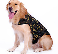 Camouflage Pattern Backpack Shirt for Dogs (M-XL)