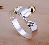 Silver Twist Ring(Assorted Size)