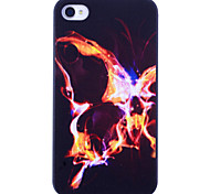 Vlinder Of Fire Pringting voor iPhone 4/4S