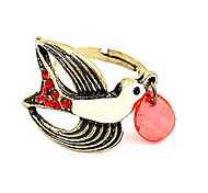 Korean Jewelry Wholesale New Influx Of People Ring Ring Girl Ring Retro Swallows