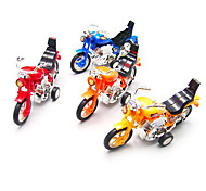 Stem Winding up Running Lifelike Motorcycle(Random Color)