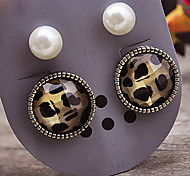 Earring Stud Earrings Jewelry Women Party / Daily Pearl / Alloy