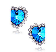 Women's  Star sapphire earrings E408