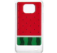 Watermelon Pattern Protective Hard Back Case Cover for Samsung Galaxy S2 I9100