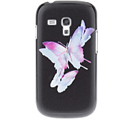 Watermark Butterfly Pattern Hard Back Case Cover for Samsung Galaxy S3 Mini I8190