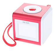 Digital Micro SD/TF/USB Music Speaker with Mini USB Port/3.5mm Plug(Pink)