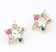 Korean Style Star Stud Earrings