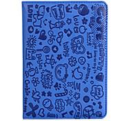 Cartoon Little Girl Stand Smart Case for iPad mini 3, iPad mini 2, iPad mini(Assorted Colors)