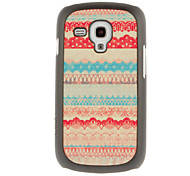 For Samsung Galaxy Case Pattern Case Back Cover Case Lines / Waves PC Samsung S3 Mini