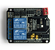 2 Channel Relay Shield Module for (For Arduino) (XBee / BTBee Interface)