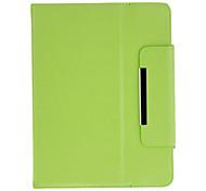 Design de Moda Caixa Protectiove com suporte para 8 polegadas Tablet (Verde)