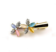 Women's Rhinestone / Acrylic Headpiece-Casual Barrette As the Picture