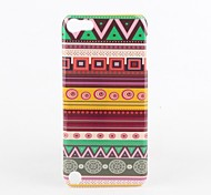 Circle Stripe Pattern Protective Hard Case for iPod Touch 5