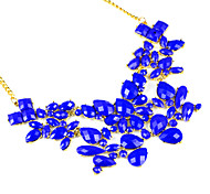 lady's golden funky candy color summer cool collar necklace jewelleryNL-2058a,b,c,d,e,f