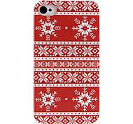 Red cas de dos de style d'habillement pour iPhone 4/4S