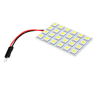 T10 BA9S 24x5050SMD Super Intensité  Kit de remplacement LED blanc  (12V)