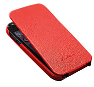 Luxury Genuine Leather Flip Full Body Case for iPhone 5/5S/5G(Assorted color)