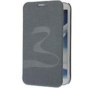 Oracle pele borboleta Padrão PU de couro Bolsas de protecção com suporte para Samsung Galaxy Note N7100 2