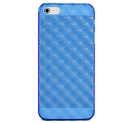 For iPhone 5 Case Transparent Case Back Cover Case Geometric Pattern Soft Silicone iPhone SE/5s/5