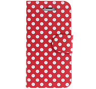 For iPhone 5 Case with Stand / Flip / Pattern Case Full Body Case Tile Hard PU Leather iPhone SE/5s/5