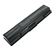 5200mAH Replacement Laptop Battery for Toshiba A200 A300 L300 L305 M200 PA3534U PA3535U 6cell - Black