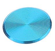 Spiral Estilo Azul Alloy Home Button adesivos para iPhone / iPad / iPod