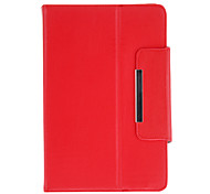 Classic Protectiove Case with Stand for 9 Inch Tablet(Red)