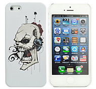 Bleeding Skull Pattern PC Hard Case for iPhone 5