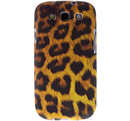 Leopard Print Pattern Hard Case for Samsung Galaxy S3 I9300