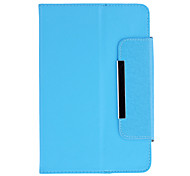360 Degree Rotating Case with Stand for 7 Inch Tablet(Blue)