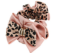 Charm Password Leopard Butterfly Wing Hairtie