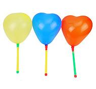 1PCS Light-up LED Loving Coração balão Props concerto (cor aleatória)