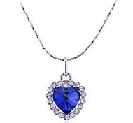 Lureme®Ocean Heart Pendant Necklace