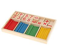 Digital Computation Bastone Legno & Block giocattolo di formazione
