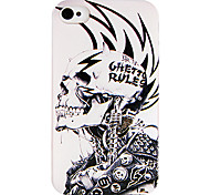 Punk Machine Skull Back Case voor iPhone 4/4S